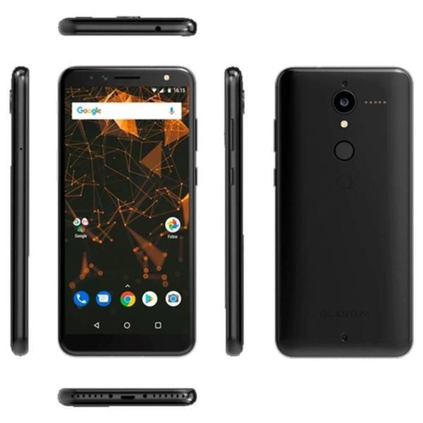 Imagem de Smartphone Quantum L, Tela 6, 16GB, Câmera 12MP, Frontal 8MP, 4G Dual Chip - Preto