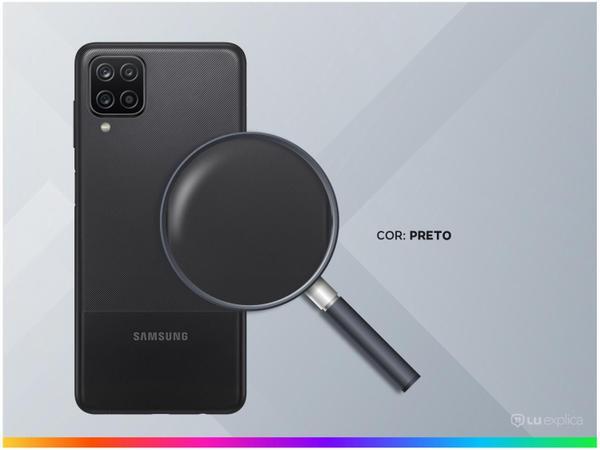 """Imagem de Smartphone Samsung Galaxy A12 64GB Preto 4G - Octa-Core 4GB RAM 6,5"""" Câm. Quádrupla + Selfie 8MP"""