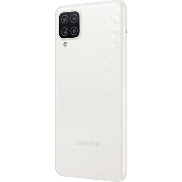 """Imagem de Smartphone Samsung Galaxy A12 Branco 64GB, Tela Infinita de 6.5"""", Câmera Quádrupla 48MP+5MP+2MP+2MP, Frontal de 8MP, Bateria 5000mAh, 4GB RA"""