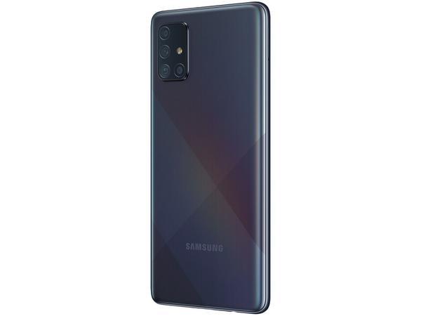 """Imagem de Smartphone Samsung Galaxy A71 128GB Preto 4G - 6GB RAM Tela 6,7"""" Câm. Quádrupla + Selfie 32MP"""