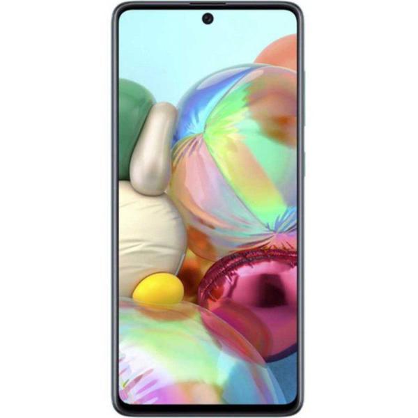 """Imagem de Smartphone Samsung Galaxy A71, Tela Infinita de 6.7"""" 128GB 6GB RAM Azul"""