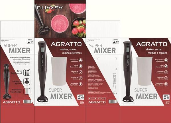 Imagem de Super Mixer Agratto com Copo Medidor 200W -127v