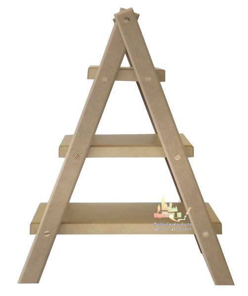 Imagem de Suporte para Balas e Doces Escada 3 Andares - MDF
