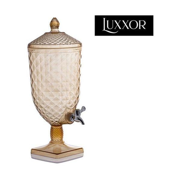 Imagem de Suqueira de Acrilico Ambar Cintilante Luxxor c/ Base 5 Litros Ref. 1410 -  Paramount