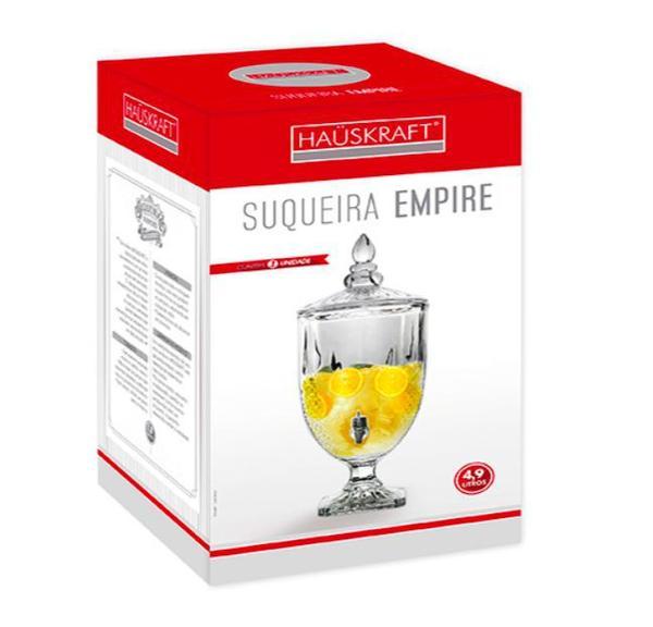 Imagem de Suqueira Imperial Jarra Dispenser 4,9 Litros Vidro Cristal