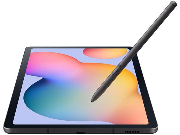 """Imagem de Tablet Samsung Galaxy Tab S6 Lite 10,4"""" 4G Wi-Fi - 64GB Android 10 Octa-Core com Caneta e Capa"""