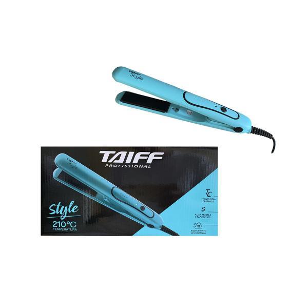 Imagem de Taiff Prancha Chapinha Style Azul Bivolt Original 210C