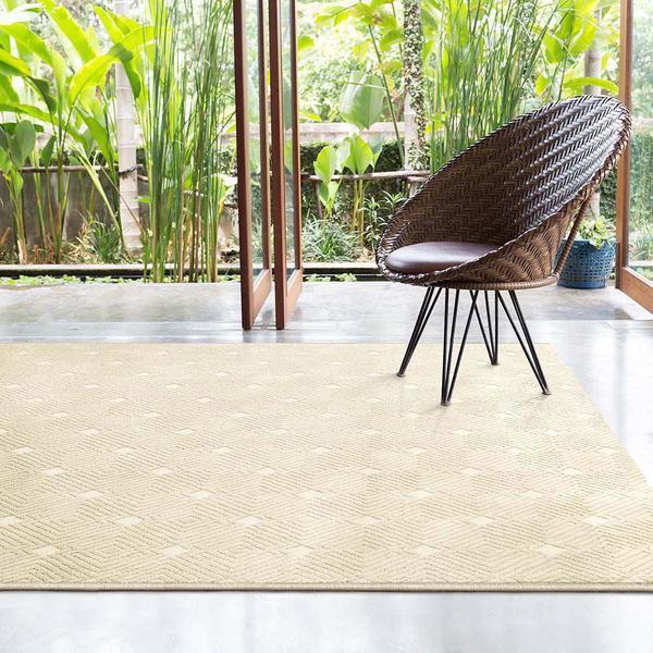 Imagem de Tapete de Sala Chevron Granito Design 1,50X2,00M - São Carlos