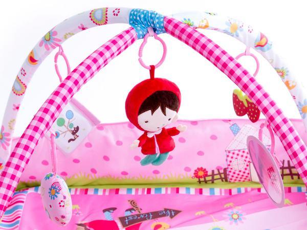 Imagem de Tapete Infantil Discovery Chapeuzinho Vermelho