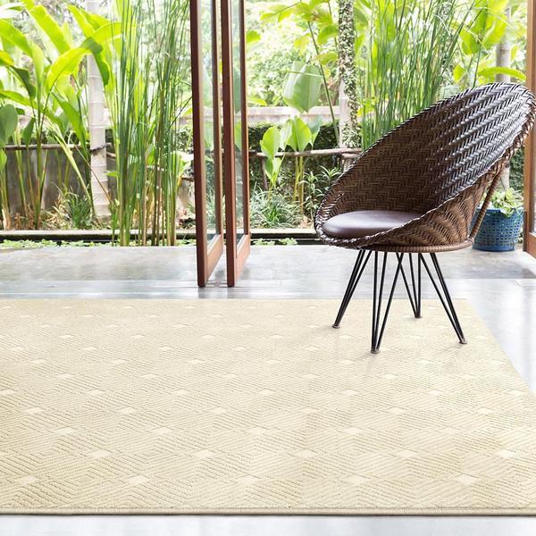 Imagem de Tapete Para Sala Chevron Granito Design 1,50x2,00 São Carlos