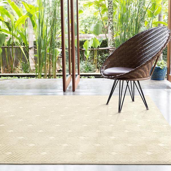 Imagem de Tapete Para Sala Chevron Granito Design 2,00x2,50 São Carlos