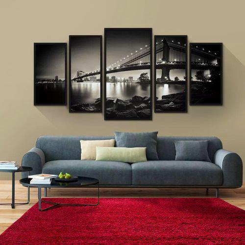 Imagem de Tapete para Sala Quarto Infantil Macio Retangular 140X100cm Casen