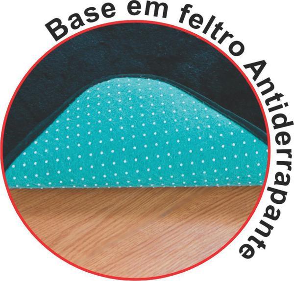 Imagem de Tapete Pelucia para Quarto Criança Carrinho Azul Turquesa*
