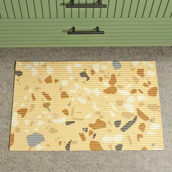 Imagem de Tapetinho Granito Santista - 43cm X 65cm - Amarelo