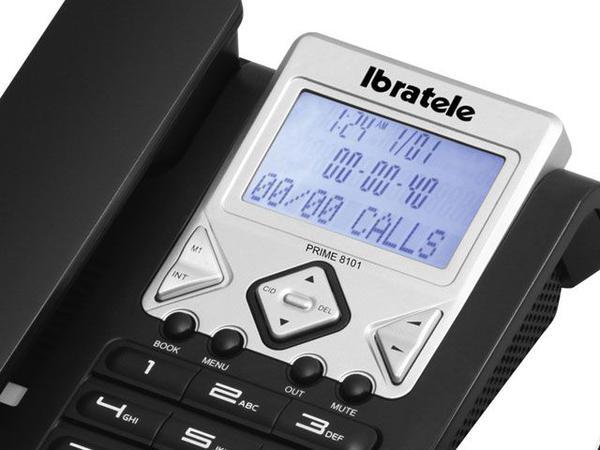 Imagem de Telefone c/ Fio Identificador de chamadas Viva-Voz