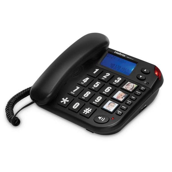 Imagem de Telefone com Fio 3 Teclas de Memória Tok Fácil ID Intelbras
