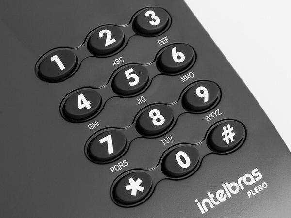 Imagem de Telefone Com Fio Intelbras Pleno