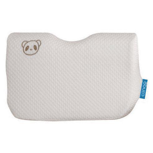Imagem de Travesseiro Para Bebê Ergonômico Fibra De Bambu Clingo Creme
