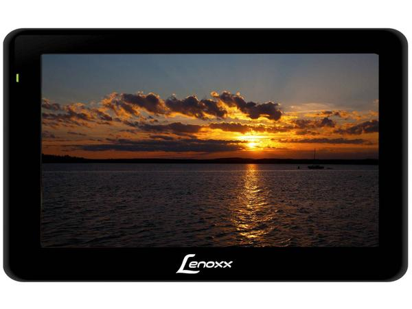 "Imagem de TV Portátil LCD 5"" Lenoxx TV 512"