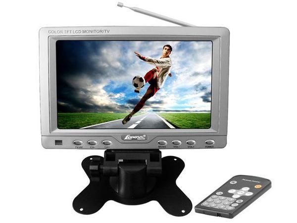 Imagem de TV Portátil LCD 7 Polegadas