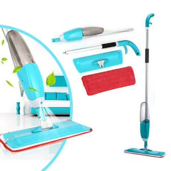 Imagem de Vassoura Magica Esfregão Spray Mop Rodo Reservatório GT572-BL - Lorben