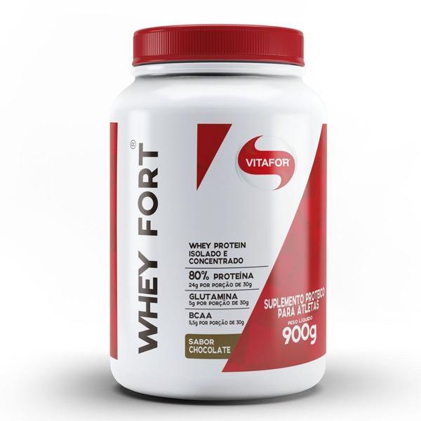 Imagem de WHEY FORT 900g CHOCOLATE - Vitafor