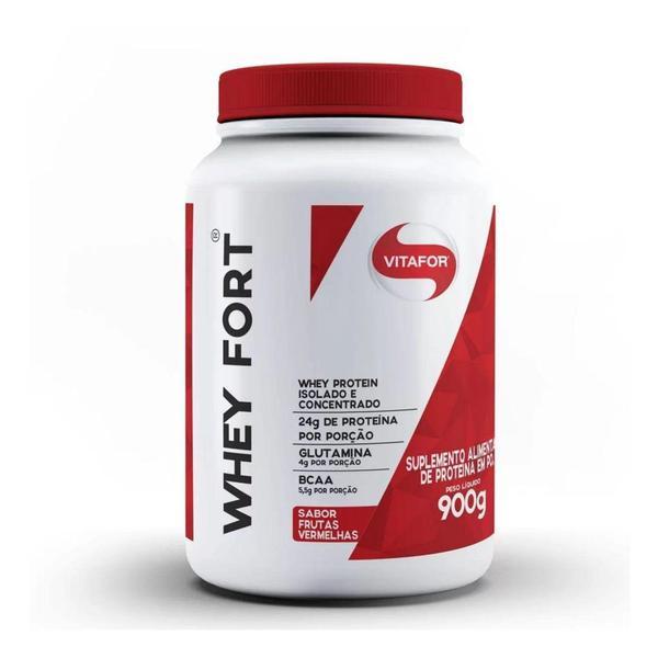 Imagem de Whey Protein Whey Fort 900g Vitafor
