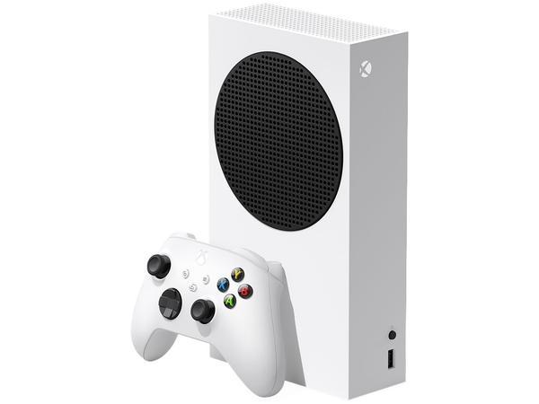 Imagem de Xbox Series S 2020 Nova Geração 512GB SSD - 1 Controle Branco Microsoft Lançamento