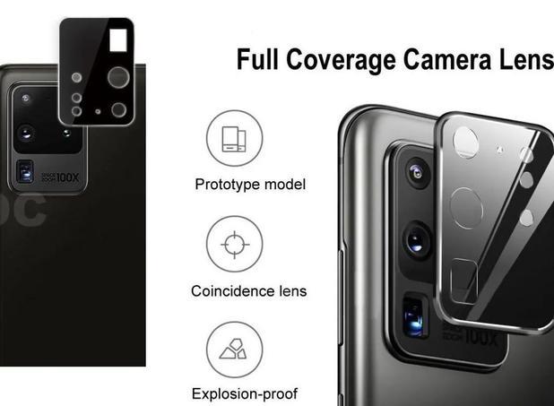 Imagem de 02 Películas Nano Gel Flexível P/ Lente de Câmera Samsung Galaxy S20 Ultra