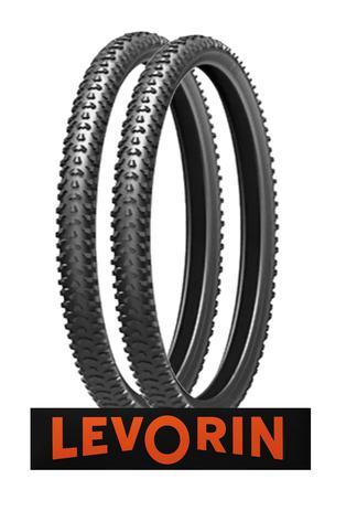 Imagem de 02 Pneu bicicleta 26x1.75 Levorin Excess MTB Bike Trilha o Par