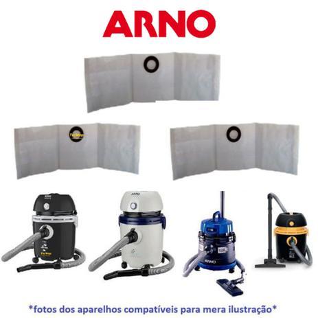 Imagem de 03 Sacos Para Aspirador Água E Pó Arno Águapo H2po Ar12 H3po