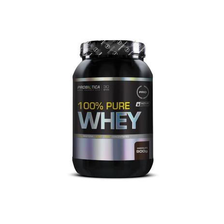 228834cac8 100 PURE WHEY PROBIÓTICA 900g - CHOCOLATE - Whey Protein - Magazine ...