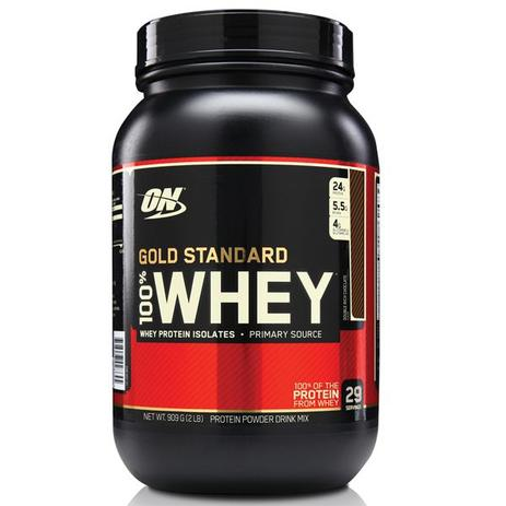 b0e211597 100 Whey Gold Standard 909g - Optimum nutrition - Proteína Time ...
