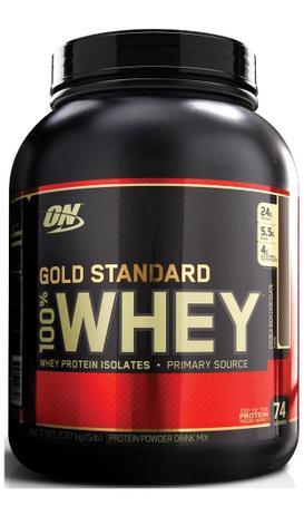 1dd34858b 100 Whey Protein Gold Standard (5lbs 2.270g) Optimum Nutrition ...