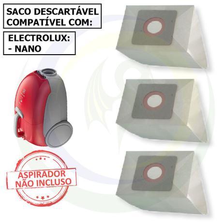 Imagem de 12 Saco Descartável para Aspirador de Pó Electrolux Nano