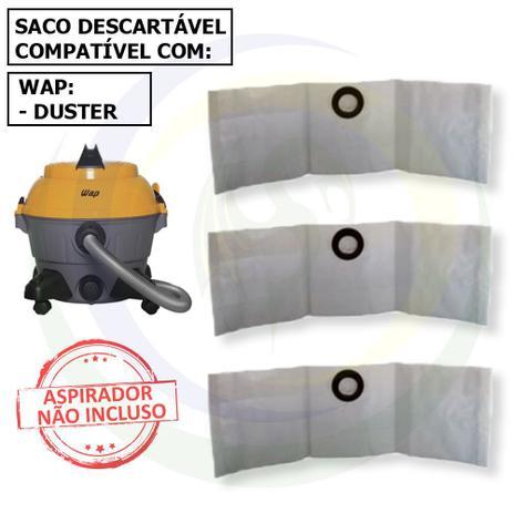 Imagem de 12 Saco Descartável para Aspirador de Pó Wap Duster
