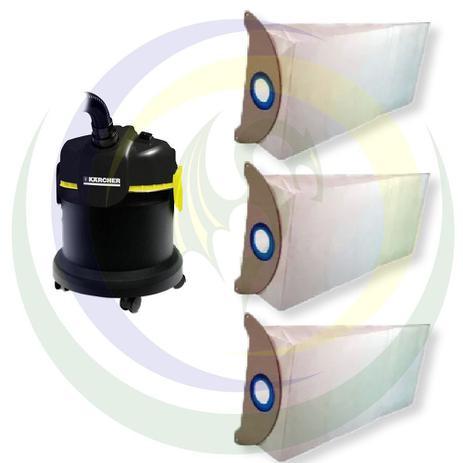 Imagem de 12 Saco Descartável para Aspirador Pó Karcher Modelos: A2003 / A2004 / A2003 Plus