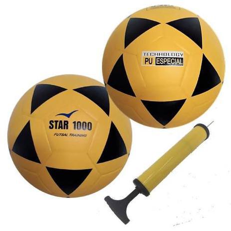 efa5f4303f495 2 Bolas Futsal Vitória Oficial Star 1000 Adulto Profissional - Vitoria  esportes