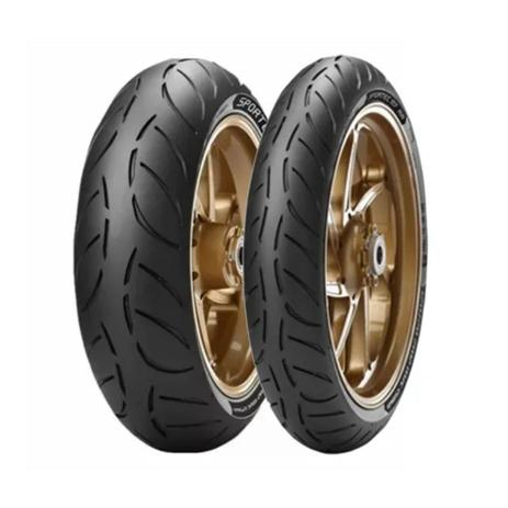Imagem de 2 Pneu Moto Honda Cb500f 160/60-17 69w 120/70-17 58w M7 Rr