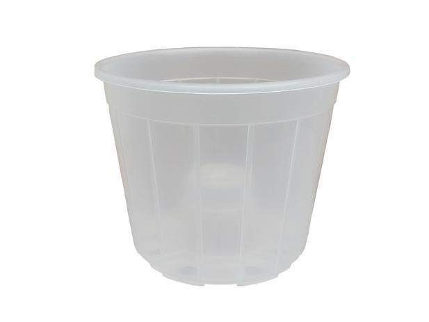 20 Vasos Para Orquidea Transparente 15 Plastico Cone Atacado Vf