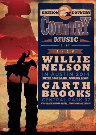 Imagem de 2X Country Music - Willie Nelson e Garth Brooks - DVD