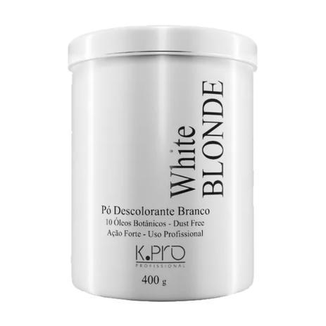 Imagem de 3 Pó Descolorante Branco White Blonde Dust Free Kpro 400g