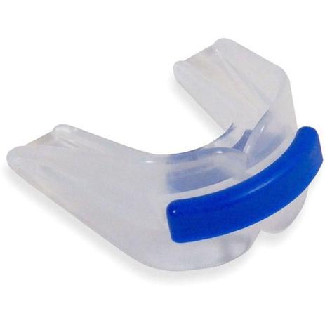 Imagem de 3 Protetor Bucal Anti Bruxismo Duplo Silicone c/ Furo de Respiração