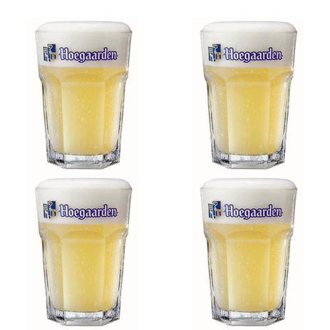 Imagem de 4 Copos de cerveja Hoegaarden 400ml - Embalagem Individual