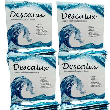 Imagem de 4x Descalcificante Descalux Nespresso Dolce Gusto Tres Corações Oster Jura Saeco DeLonghi e Outras