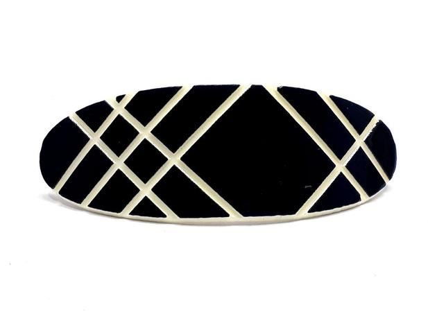 Imagem de 6 Prendedores de Acrílico Super Luxo Grampo para Cabelo 4205