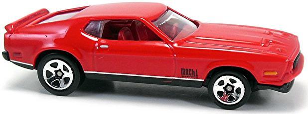 Imagem de 71 Mustang Mach 1 - Hot Wheels - 007 - DIAMONDS ARE FOREVER