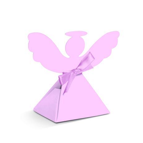 d9f0f8938ed 8 Caixas p  Doces Anjo Batismo Rosa Dec. Festas - Cromus - Artigos ...
