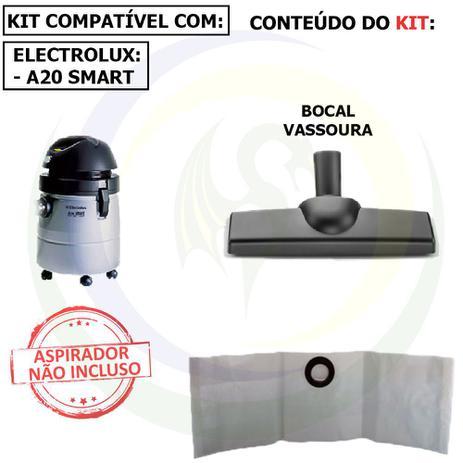 Imagem de 9 Saco +1 Bocal Vassoura para Aspirador de Pó Electrolux A20 Smart A20bc