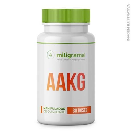 e94817e98 AAKG (Arginina Alfa Cetoglutarato) 1500mg - Musculação Total - Miligrama